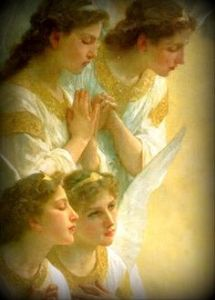 Angels~praying